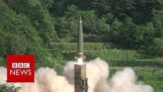 The US and South Korea have conducted a joint military exercise a day after North Korea launched a missile experts believe could reach Alaska. In a joint ...