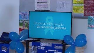 Pacientes das unidades de saúde de Sorocaba recebem orientações sobre o câncer de próstata