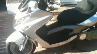 4. Kymco xciting 500 cc scooter 2006