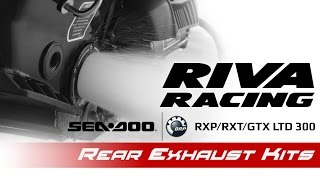 6. RIVA Sea-Doo 300 Rear Exhaust Kits
