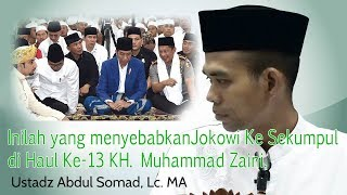 Video Inilah penyebab Kehadiran Presiden RI Jokowi ke Haul Akbar KH.Muhammad Zaini di Sekumpul Martapura MP3, 3GP, MP4, WEBM, AVI, FLV Juli 2018