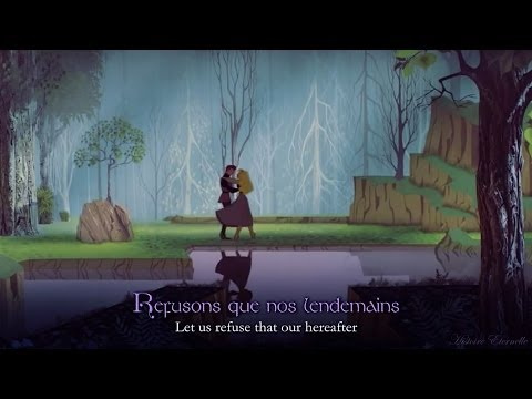 J'en Ai Rêvé | Once Upon A Dream (French) (lyrics + Trans)
