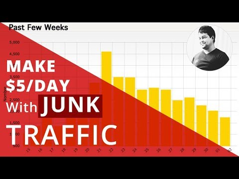 How To Make $$$ With Traffic Exchange Website Junk Traffic