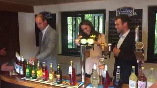 Kate Middleton pours a pint of Cider.SUBSCRIBE for more at http://bit.ly/1qC9RqVFollow us on Twitter at https://twitter.com/Daily_E... Follow us on Facebook at https://www.facebook.com/Da...Check out the Express website at http://www.express.co.uk/