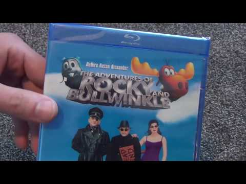 The Adventures of Rocky and Bullwinkle Blu-Ray Unboxing