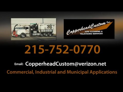 Copperhead Custom Gas Well Rejuvenation Pipe Cleaning Televising Services
