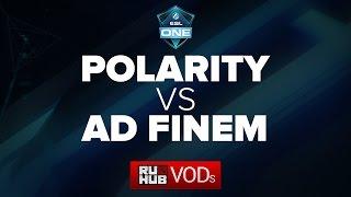 Ad Finem vs Polarity, game 1