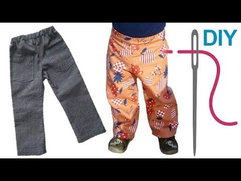 Kinderhose, einfache Hose selber nähen