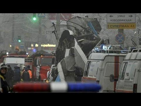 روسيا تنهي عامها على وقع التفجيرات
