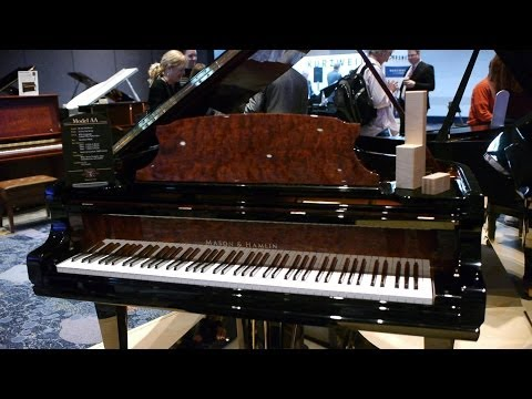 NAMM 2014 - Interview with Bruce Clark from Mason & Hamlin Pianos