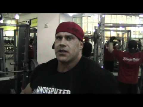 Antrenament Piept Jay Cutler (Decembrie)