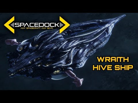 Stargate: Wraith Hive Ship - Spacedock