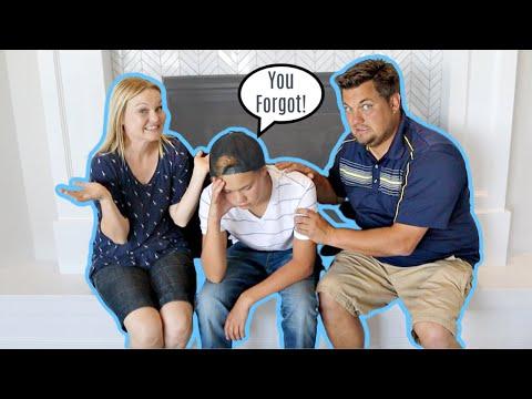 We FORGOT Your BIRTHDAY PRANK! Funny Reaction