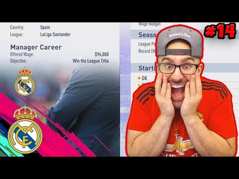 REAL MADRID OFFER ME THE JOB! FIFA 19 Manchester United Career Mode #14