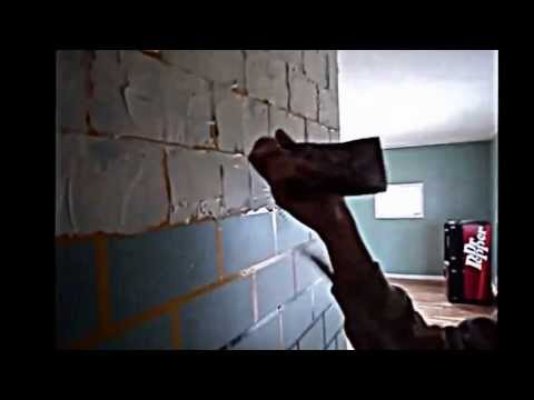how to remove z-brick from drywall