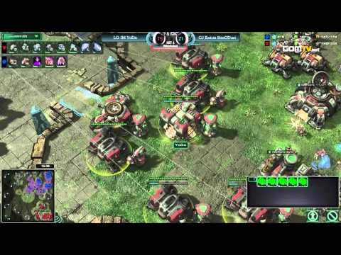 gsl - Link: http://www.gomtv.net/2013wcs3/vod/80828 2013 WCS KR Season 3 GSL LG-IM_YoDa vs CJ_SonGDuri Aired date: August 6th, 2013.