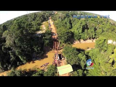 Ponte Plácido de Castro  Vila Ivo Morales ALEAC 19 06 2013