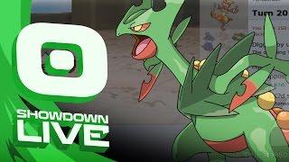 Pokemon OR/AS! OU Showdown Live w/PokeaimMD!  Lure Mega Sceptile! by PokeaimMD