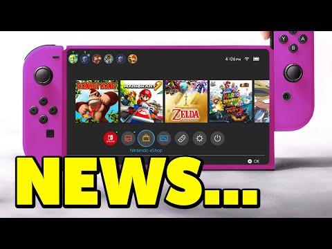 Nintendo Switch MAJOR LEAKS Just Dropped...