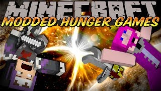 Minecraft MODDED HUNGER GAMES : ANTI GRAVITY MOD!