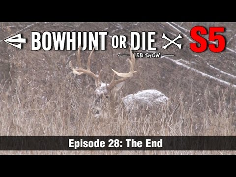 Chasing A Late Season Giant Buck - 2 Shot Opportunities!