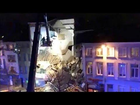 Κατάρρευση πολυκατοικίας στην Αμβέρσα
