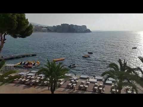 Breakfast with a view! Melia Calvia Beach Mallorca, Spain.  Great family hotel