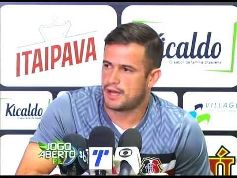 [JOGO ABERTO PE[ Técnico do Santa Cruz aposta em Pipico para vencer mais uma na Série C