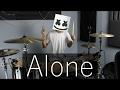 Alone - Marshmello (Drum Remix) | EarthEPD