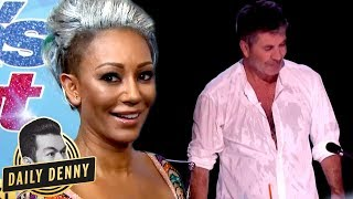 Download Video America's Got Talent's Simon Cowell VS Mel B: What You Didn't See On The Live Show | Daily Denny MP3 3GP MP4