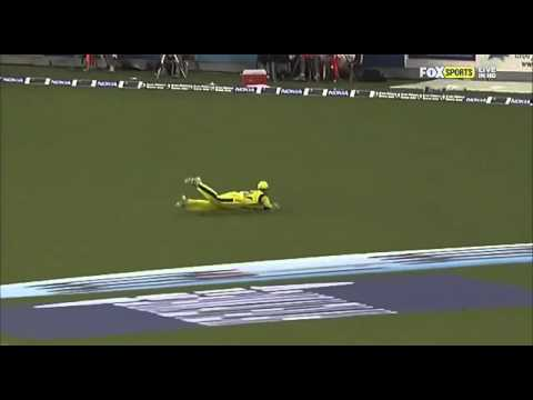 Daniel Christian's catch against Pakistan is incredible