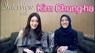 Download Video Interview & Mini Dance Tutorial with the uber kind: Kim Chung-ha (English With Indo Subs) MP3 3GP MP4