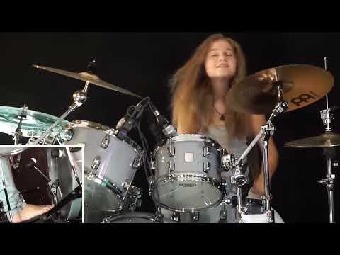 Here I Go Again (Whitesnake); drum cover by Sina