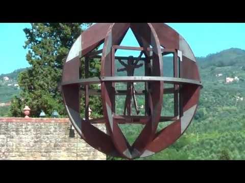 The Museum of Leonardo da Vinci is in Vinci Tuscany Italy