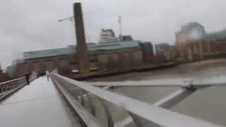 Millennium Bridge and Tate Modern Museum / Мост Миллениум и Музей Тэйт Модерн