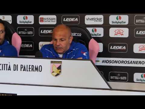 Palermo, Tedino alla vigilia dell'Entella VIDEO