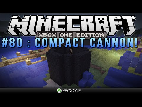 "Minecraft Xbox | ""COMPACT CANNON"" 