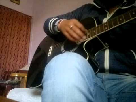 tere dar par sanam chale aye bollywood song on guitar