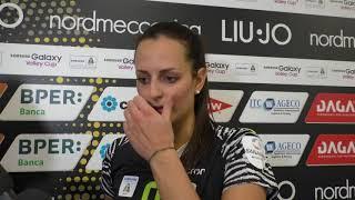 Liu Jo Modena-Legnano 3-2, le parole di Bosetti
