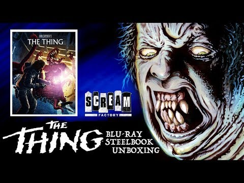 THE THING BLU-RAY STEELBOOK UNBOXING!