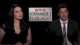 Orange is the New Black's Laura Prepon and Jason Biggs Interview - AfterEllen