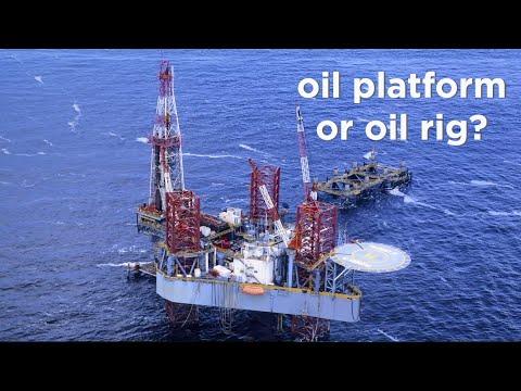 石油钻塔和石油平台的区别