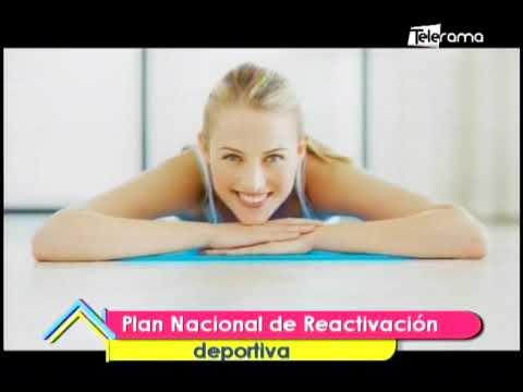 Plan nacional de reactivación deportiva