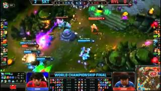 SKT T1 Impact Jax VS Royal  Godlike  Kennen Game 3 Grand Final Highlights   S3 World MUST SEE