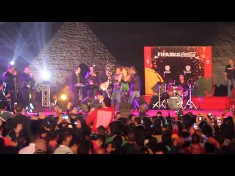 Video Crowd Camera - FIFA Concert - Myriam Fares singing Kifak Enta download in MP3, 3GP, MP4, WEBM, AVI, FLV February 2017