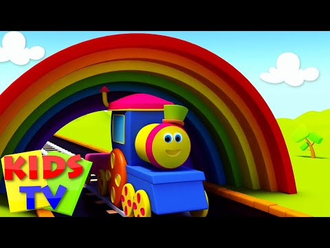 Train - Bob is a fun loving train who will teach your children types of colors, in this episode. Lets join the colorful ride. Come sing along!