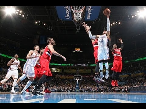 Video: Lillard and Westbrook Square Off with 40-Point Performances