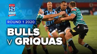 Bulls v Griquas Rd.1 2020 Super rugby unlocked video highlights