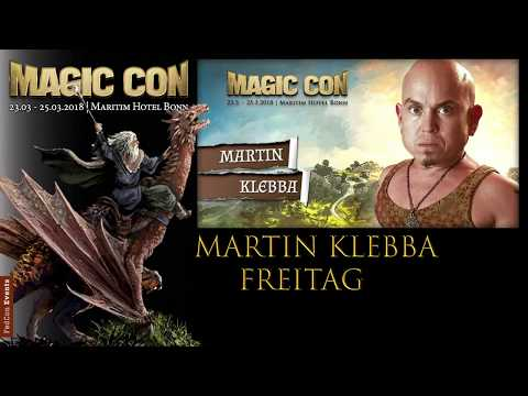 MagicCon (2018) Fr. Panel Martin Klebbba