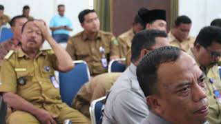 Sambutan Bupati Pasaman H Yusuf Lubis SH MSi dalam Rapat Koordinasi Percepatan Penurunan Stunting